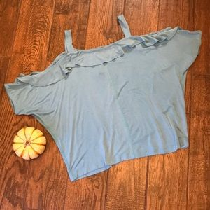 NWT cold shoulder top